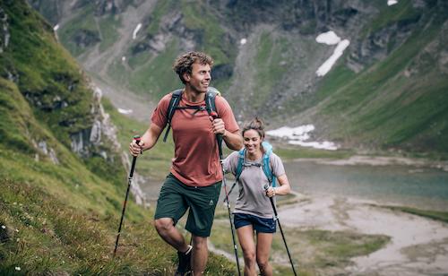 Funktionsunterwäsche Wandern, Bergsteigen