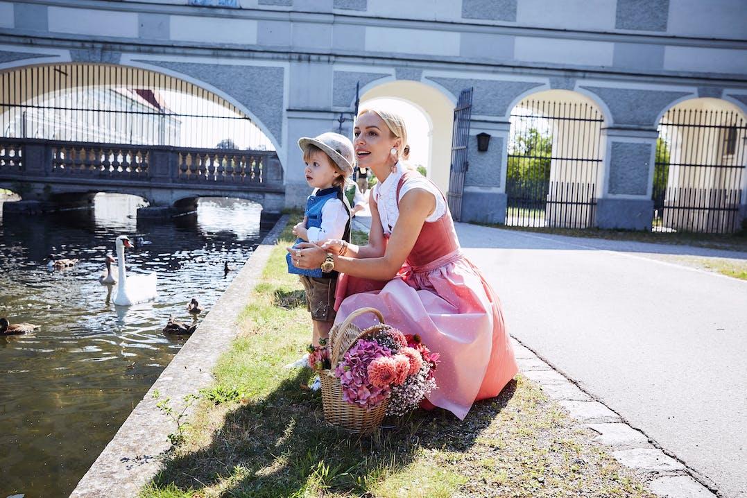 Vikyandthekid, Trachten-Looks Kids, Lodenfrey, Munich