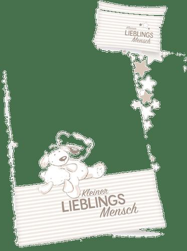 Herding Babybettwäsche »Kleiner Lieblingsmensch«