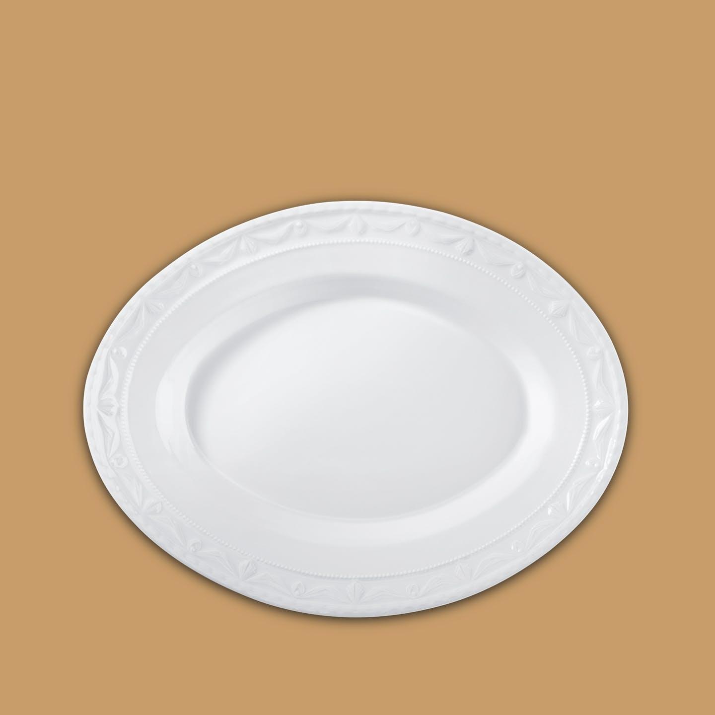 Platte oval, KURLAND, klein