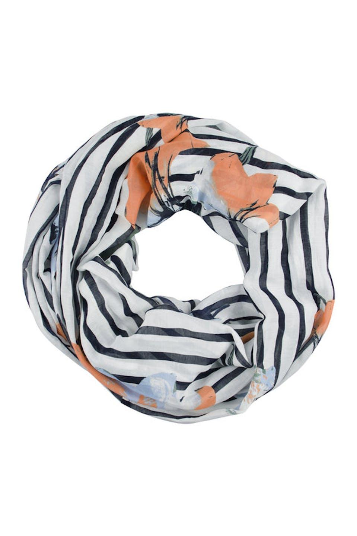 Streifen Loop-Schal