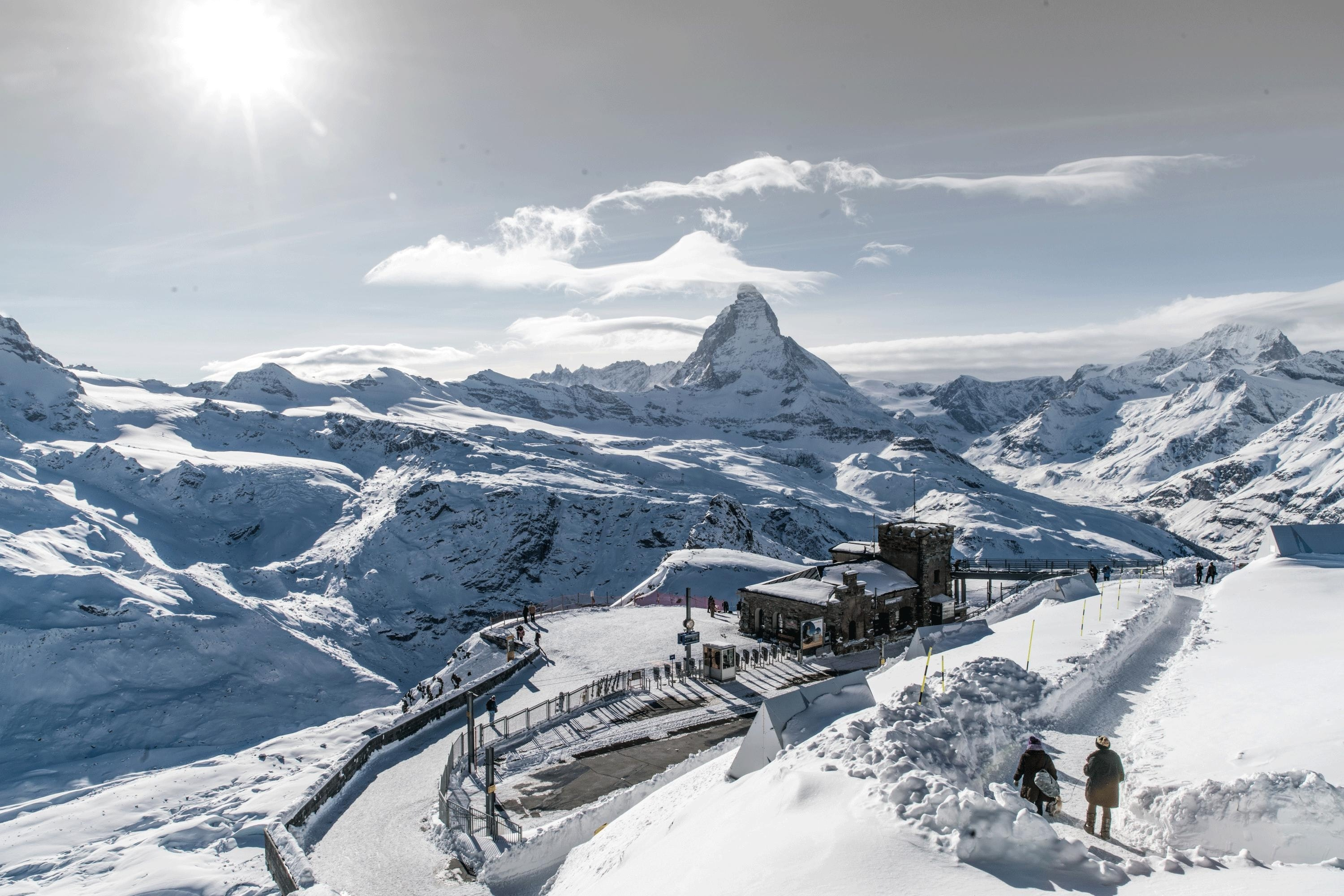 Station Gornergrat © David Bumann