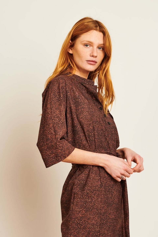 Dress Dakota Long | Brown