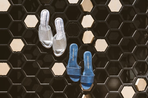 chaussures métalliques Melvin & Hamilton