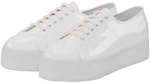 Superga, Sneaker, white Plateau Sneaker, Lodenfrey, Munich