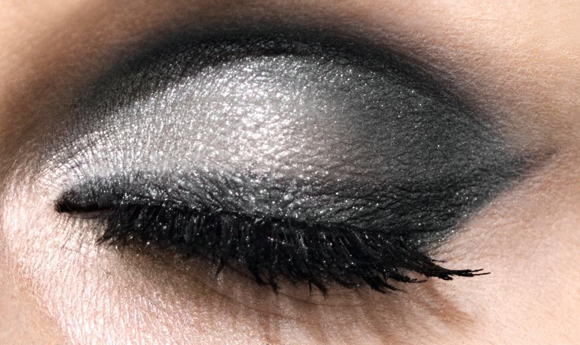 Augen: Abend Make-up kalter Farbtyp