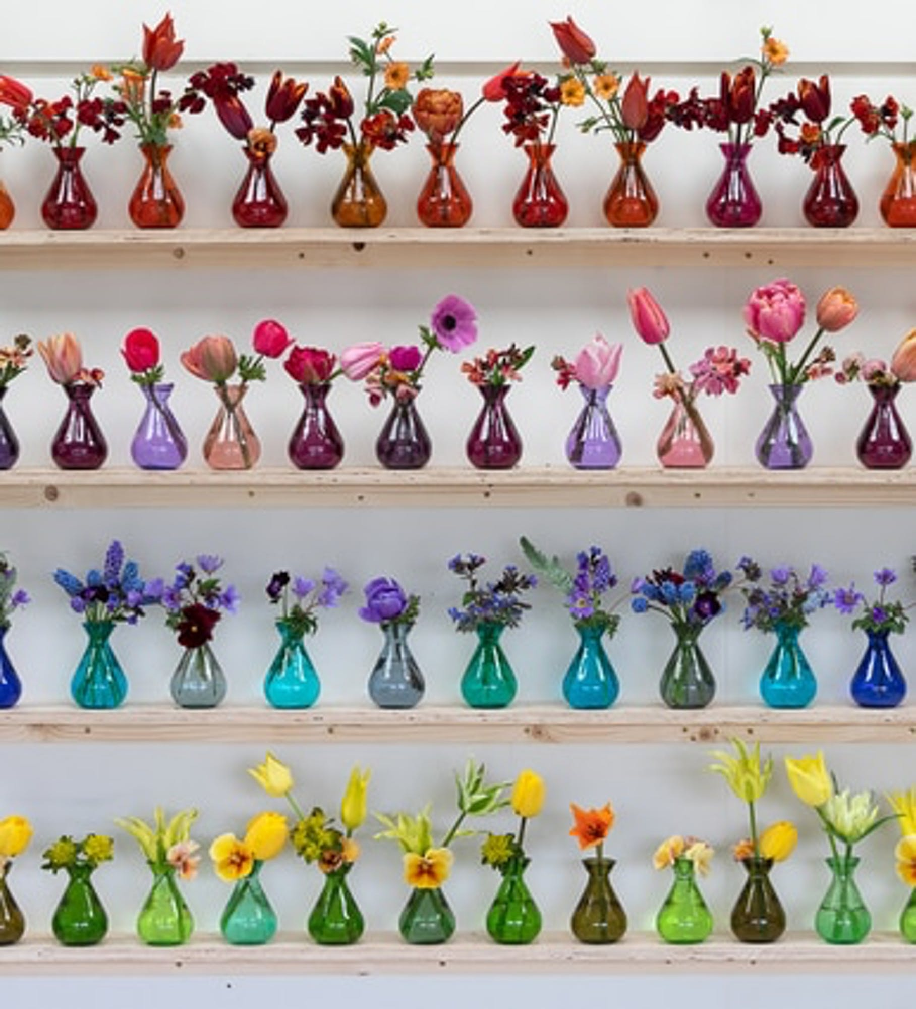 Individual Jewel Vases