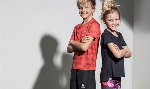 Coole Sportkleidung für Kinder