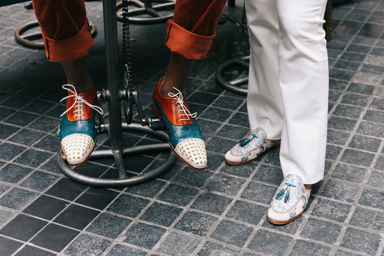 Chaussures de ville élégantes collection été