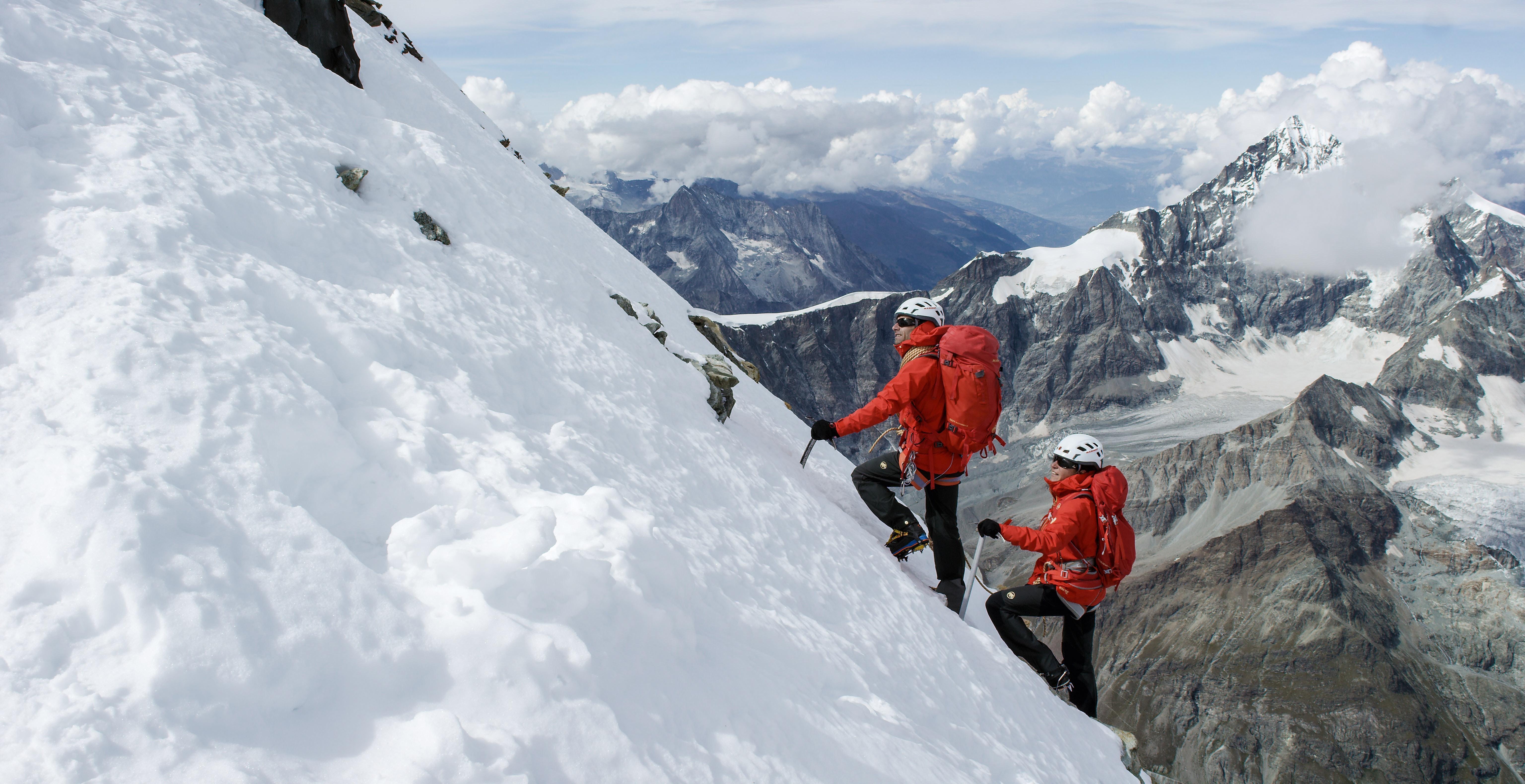 Der Gipfel ist nicht mehr weit!