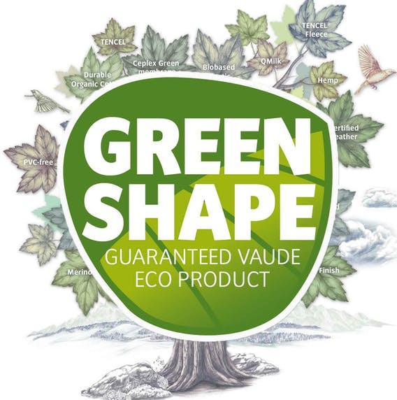 Outdoorbekleidung mit Vaude Green Shape Siegel