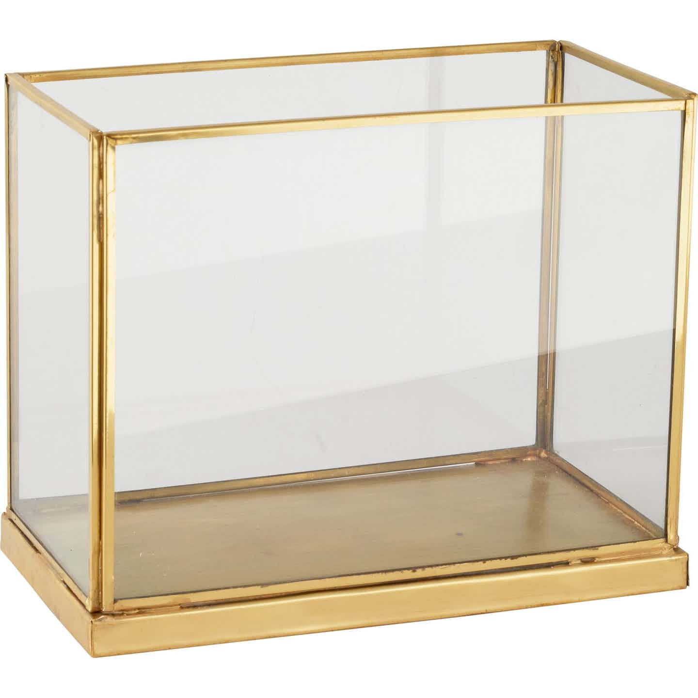 Windlicht Glam Forest Gold 20 cm x 10 cm