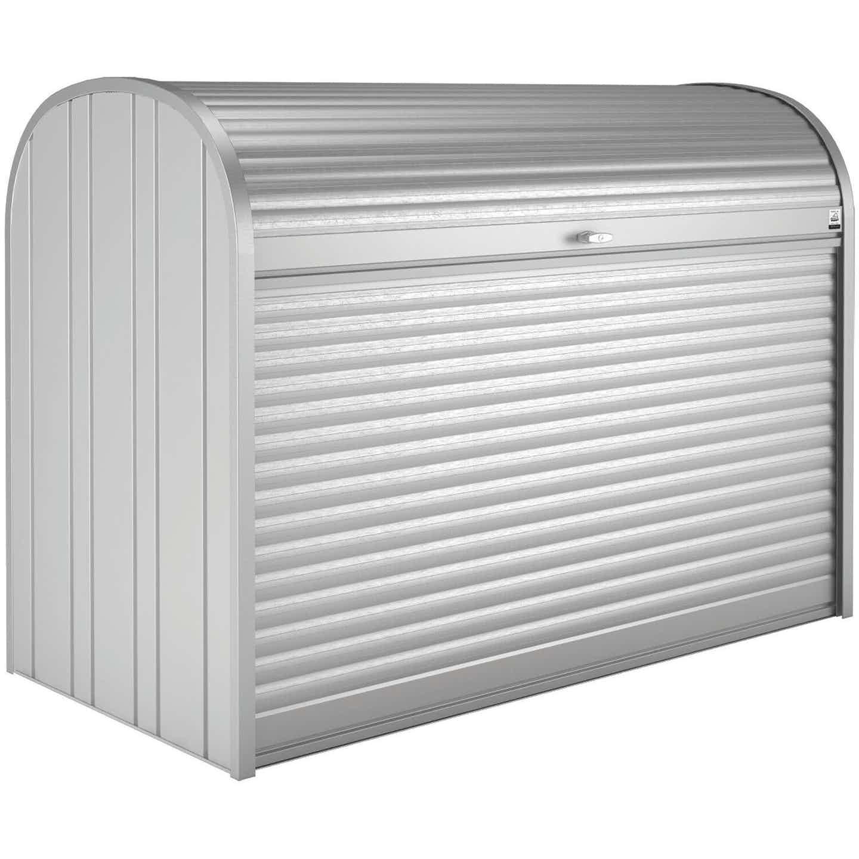 Biohort StoreMax 190 Gartenbox Silber-Metallic