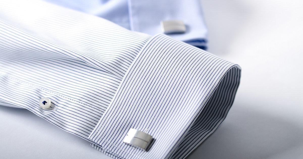 Normales hemd an manschettenknöpfe Hemden mit