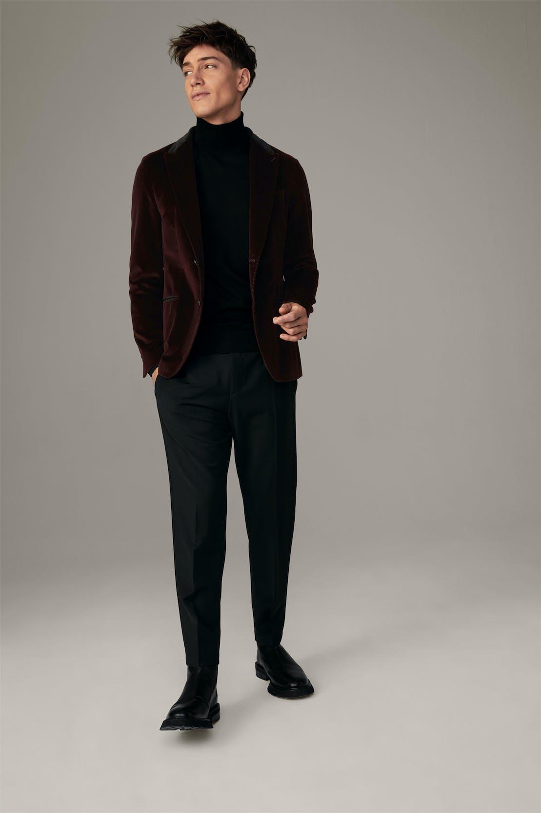 Veste de costume Amir, rouge foncé