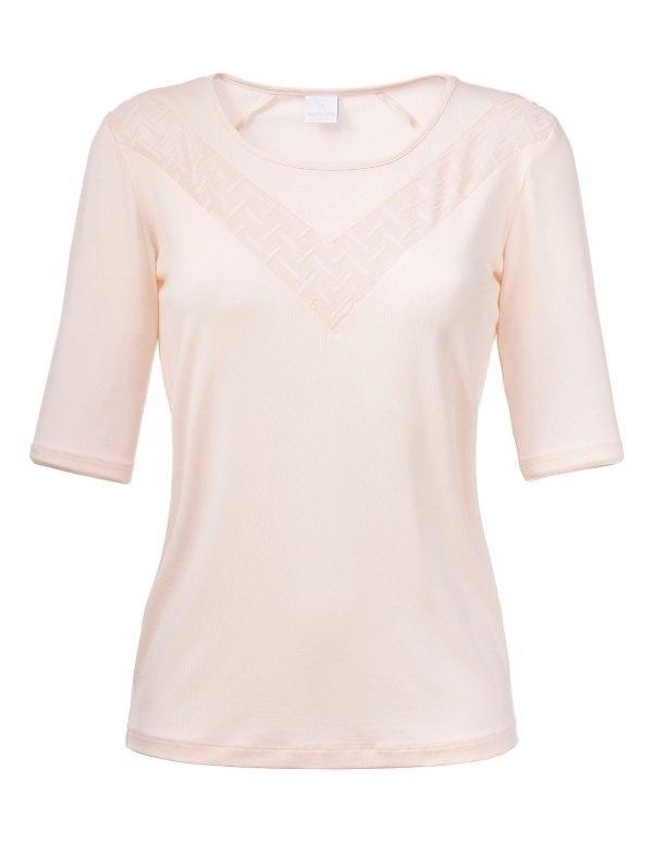 Shirt mit Transparenteinsatz