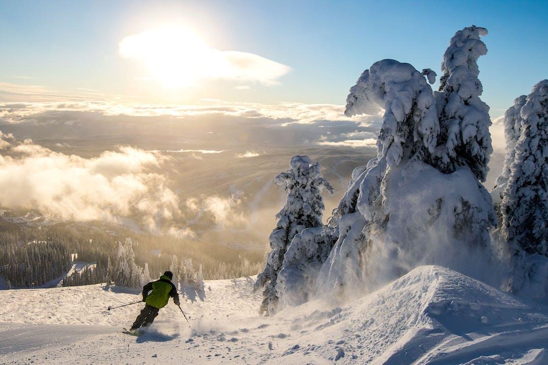 Sun Peaks Kanada Ski