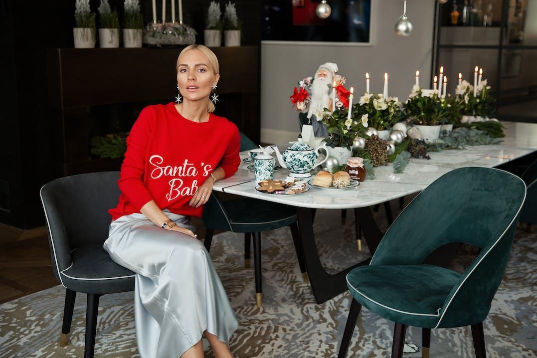 Vikyandthekid, Viktoria Rader, Christmas 2018, Lodenfrey, Munich