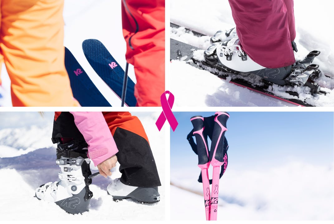 K2 The Pink Ribbon im Kampf gegen Brustkrebs