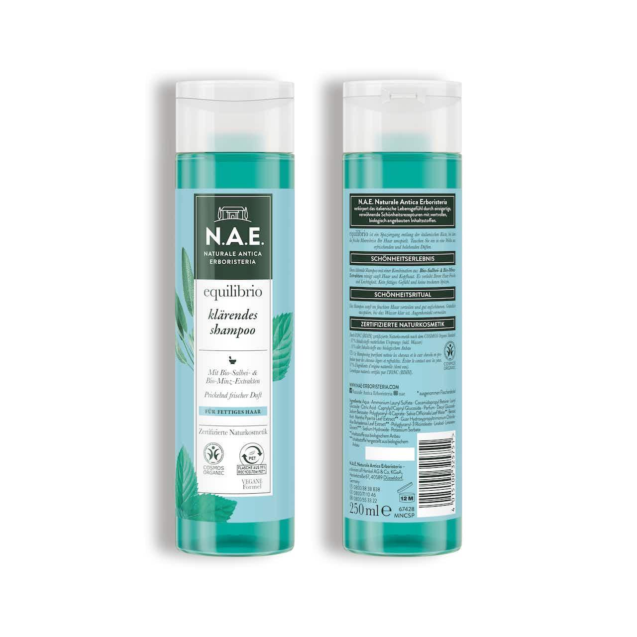 equilibrio klärendes shampoo 250ml
