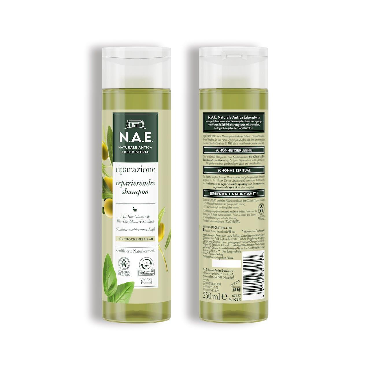 riparazione reparierendes shampoo 250ml