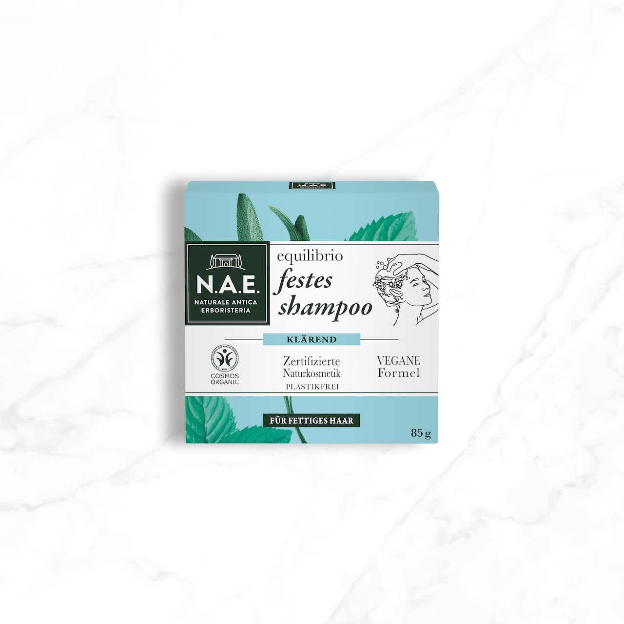 equilibrio klärendes festes shampoo 85g