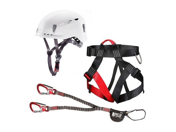 Klettersteigset für Beginner