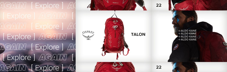 Aldo Kane, Osprey brand Ambassador