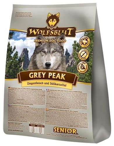 Wolfsblut - Trockenfutter - Grey Peak Senior 15kg (getreidefrei)