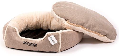 daily choice - Hundebett - Schmuseparadies soft beige Gr. L
