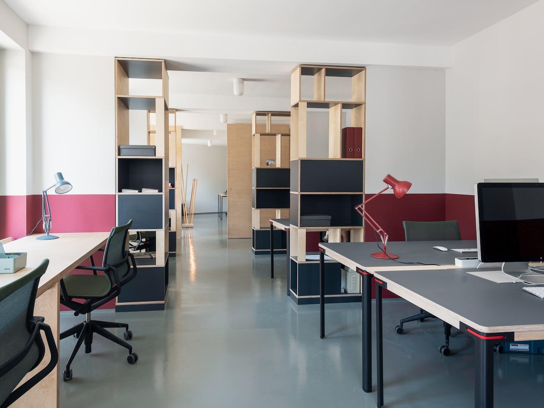 Projekt Ohja Co-Working-Space von smow Leipzig