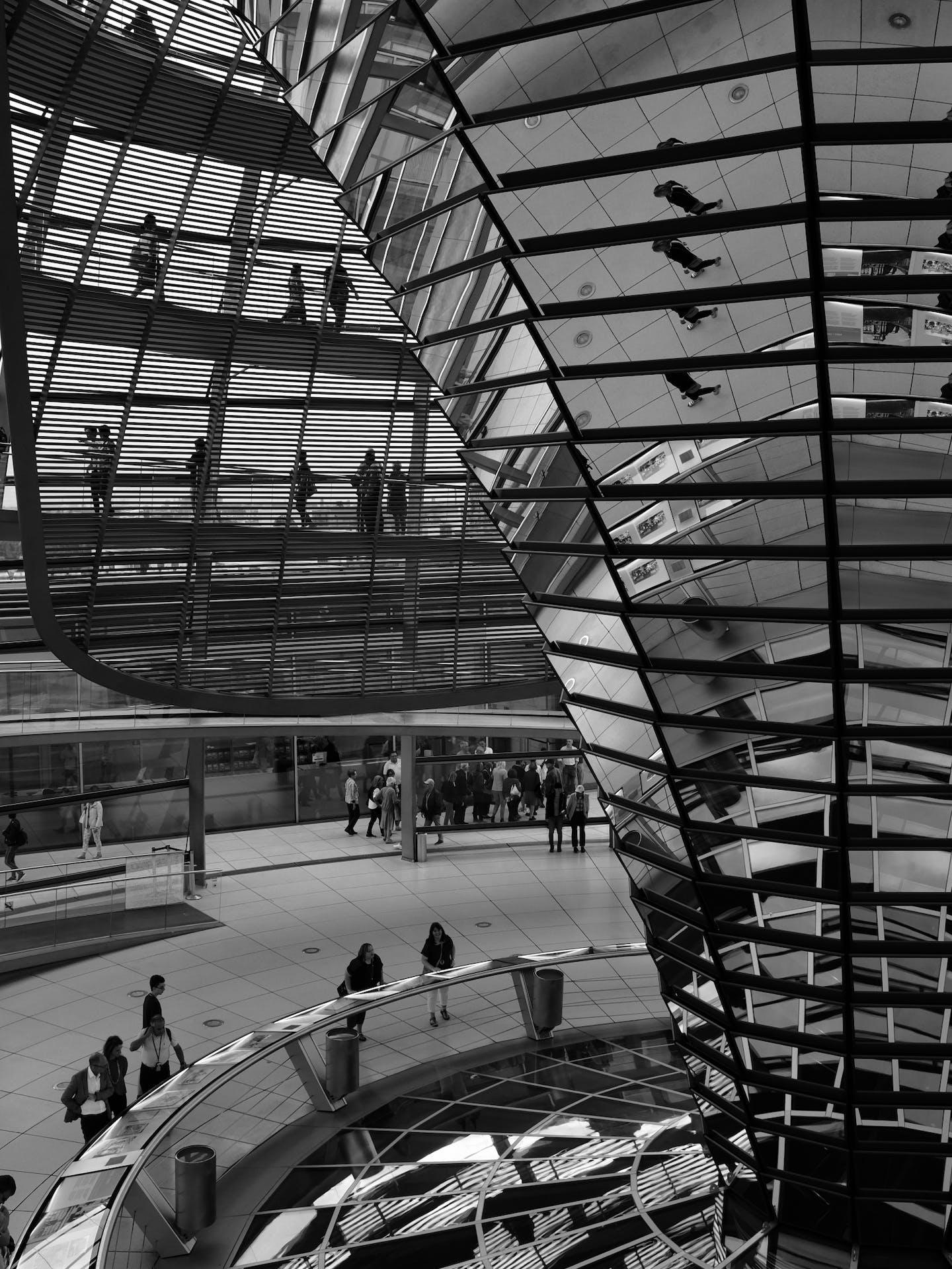 Dôme du bâtiment du Reichstag
