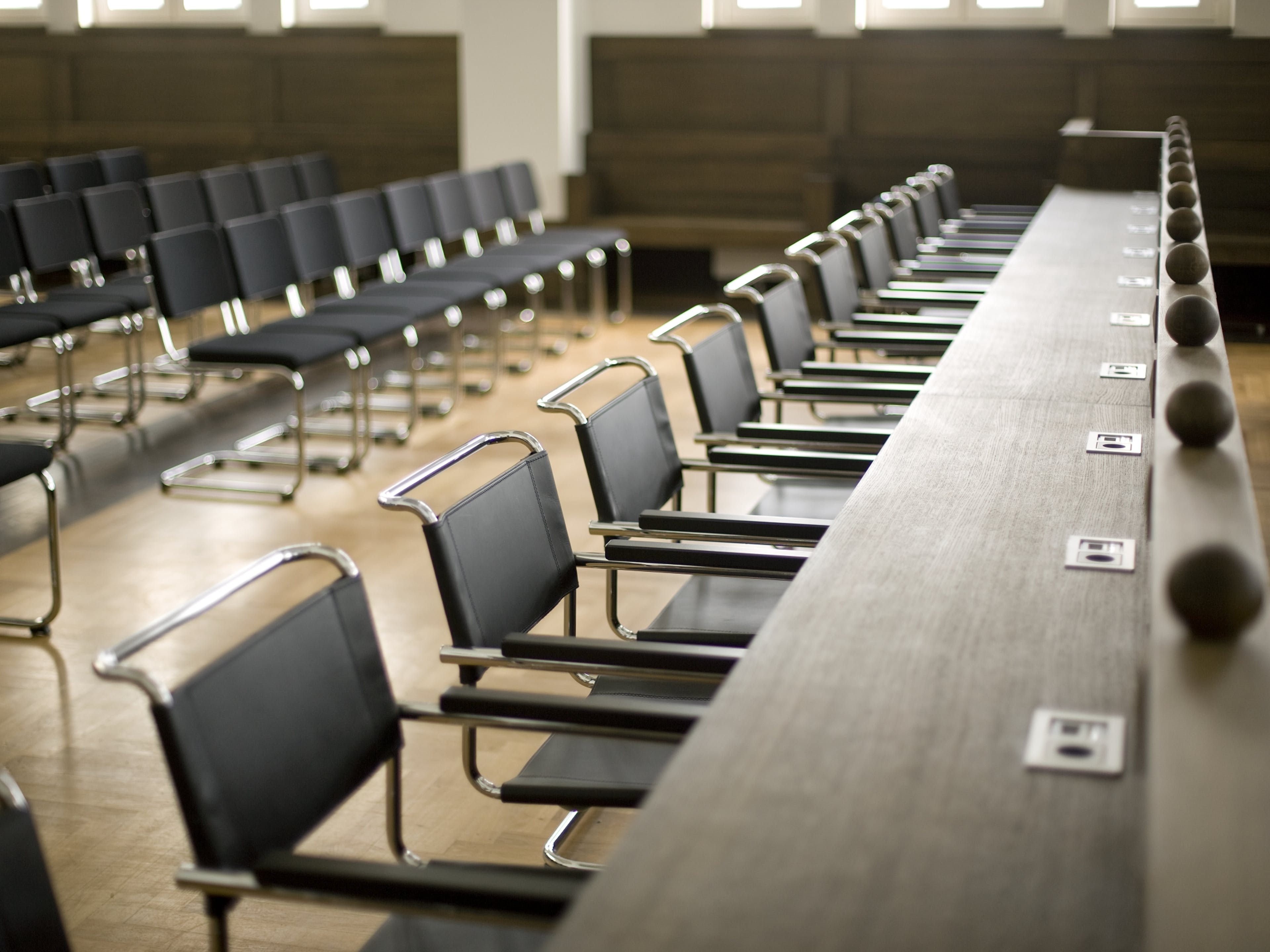 Konferenzstühle Thonet Vitra