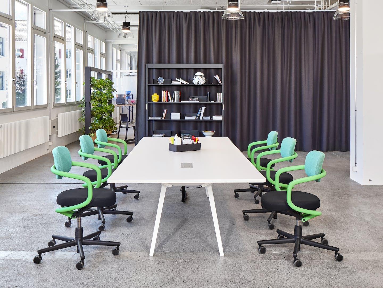 Flexible Raumnutzung im Club Office: Meeting