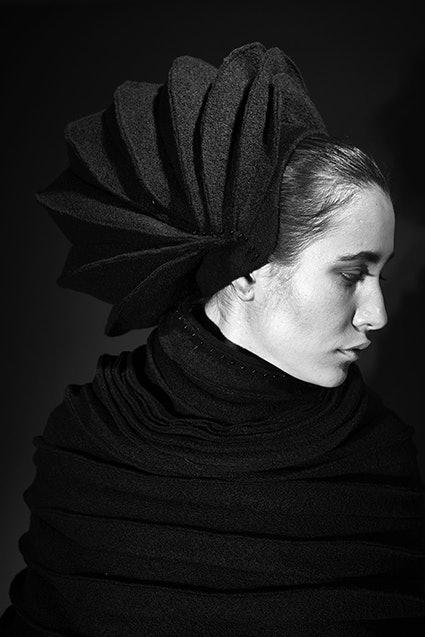 Hut, Frozen, Münchner Modepreis 2018, Otilia Vlad