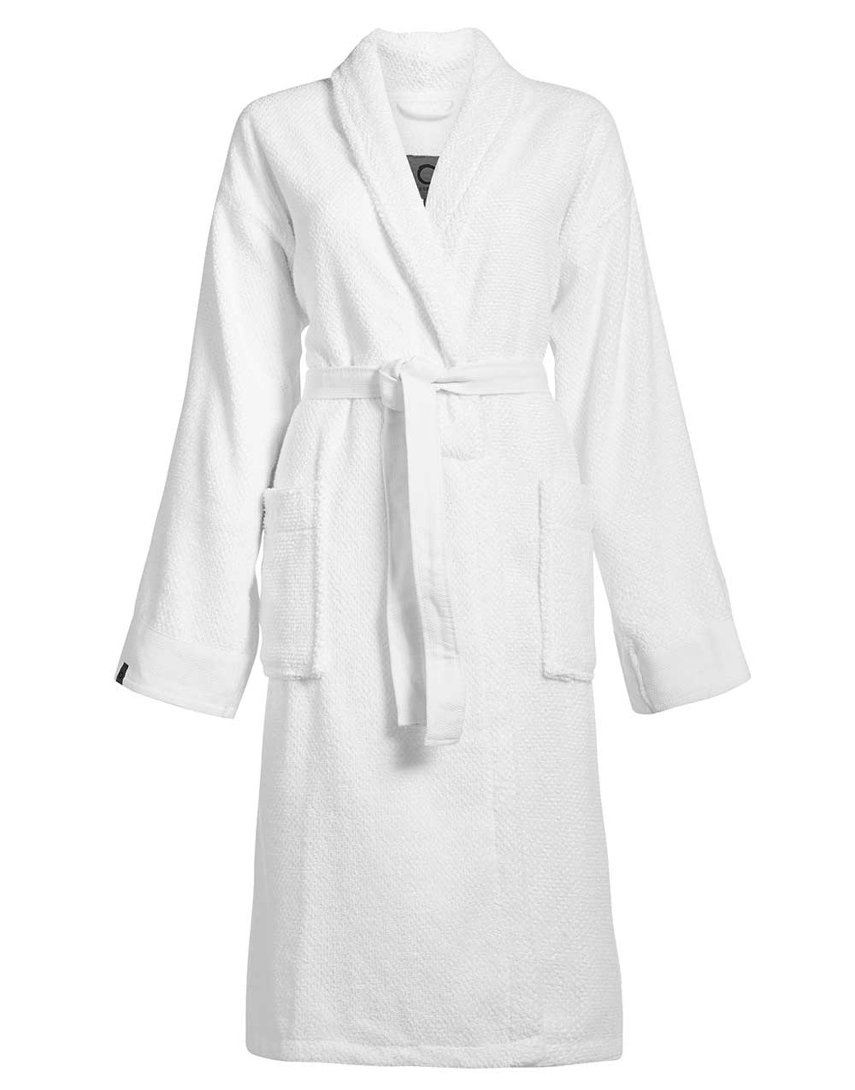 ESSENZA Connect Organic Uni Bathrobe White