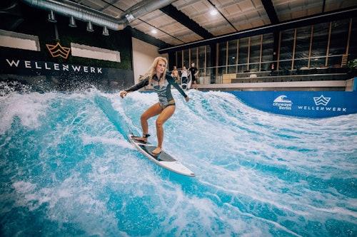 Indoor Surfen in Berlin