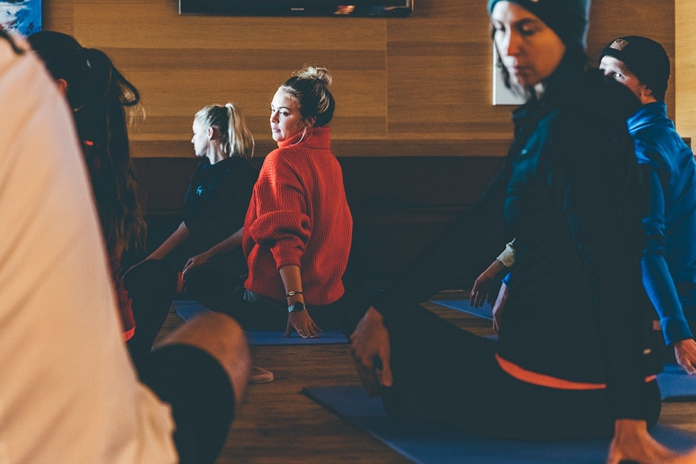 Yoga als ideales Training für Wintersportler