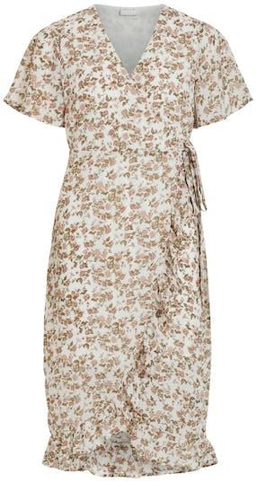 Kleid von VILA mit Blumenmuster