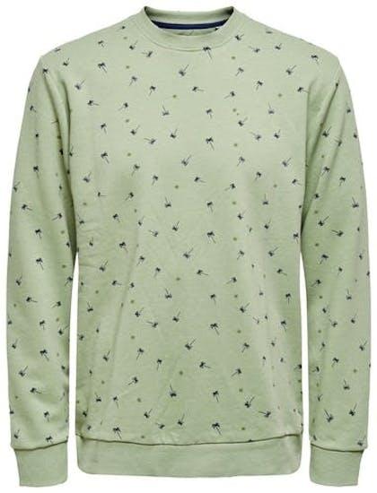 hellgrünes Sweatshirt von Only&Sons