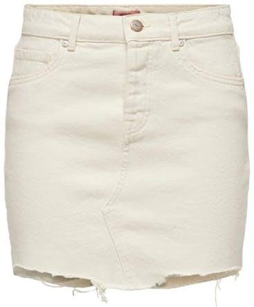 weißer Jeansrock von Only