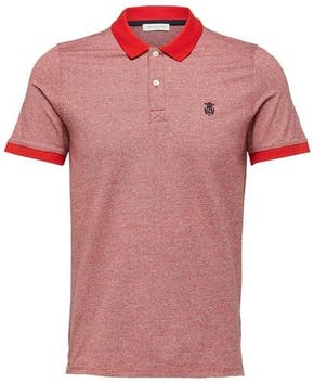 rotes Poloshirt von Selected Homme