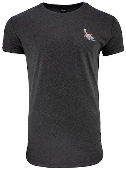 dunkelgraues T-Shirt von Derbe