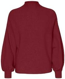dunkelroter Pullover von Vero Moda