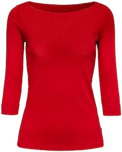 rotes Shirt mit 3/4-Ärmeln von Esprit