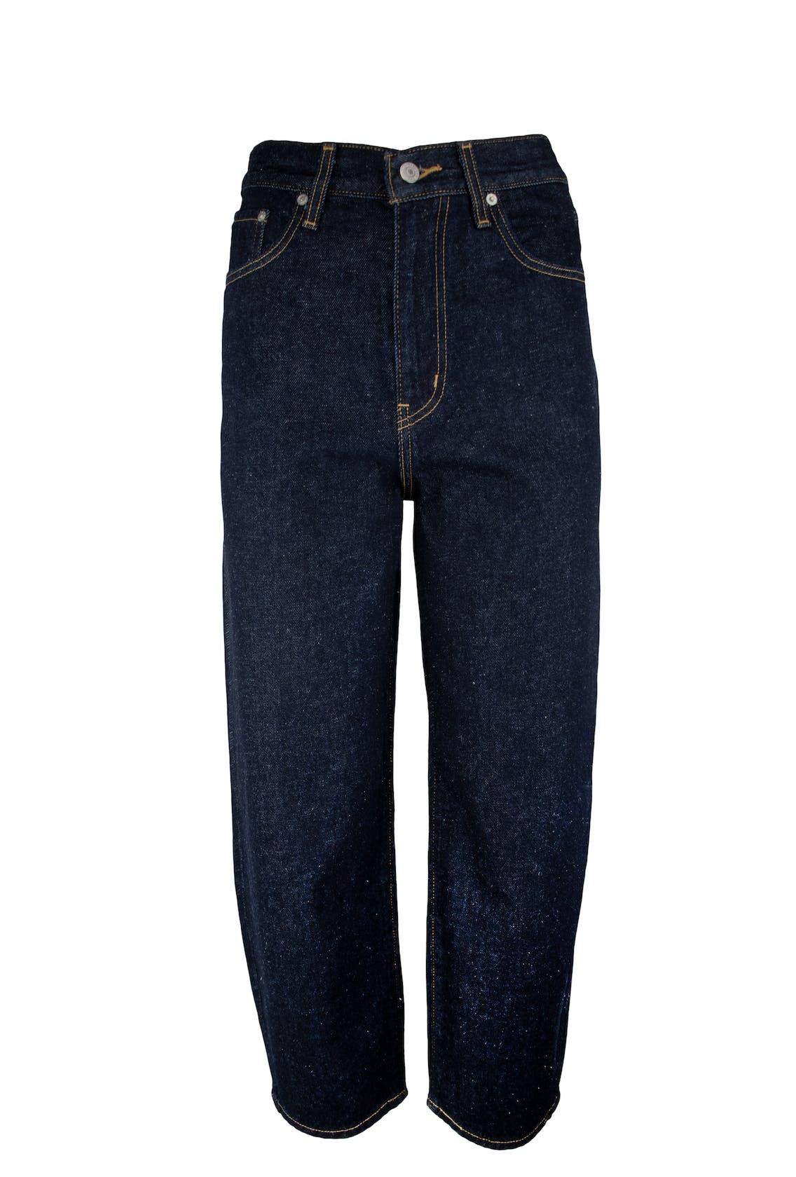 dunkelblaue Balloon-Jeans von Levi's für Damen