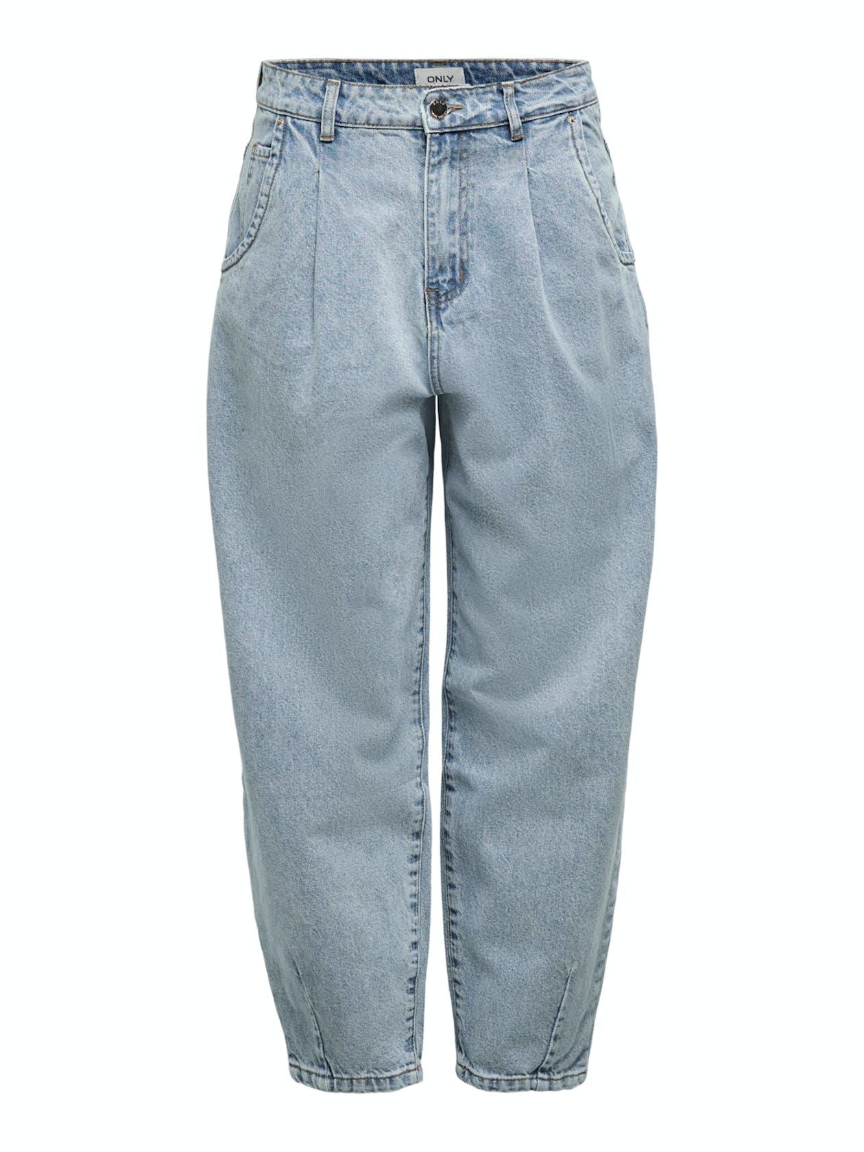 hellblaue Balloon-Jeans von Only für Damen