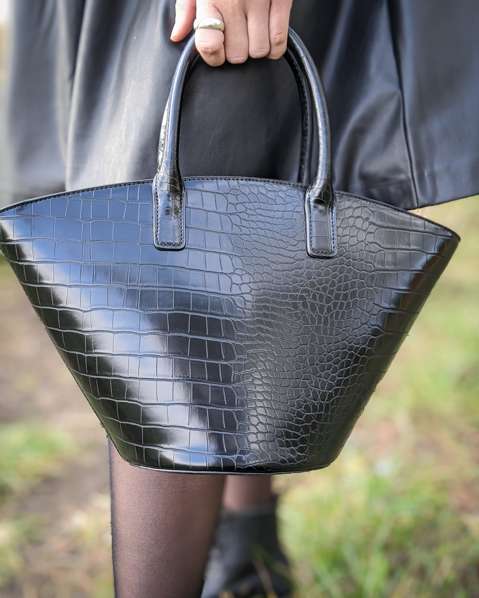 scharze Handtasche von s.Oliver