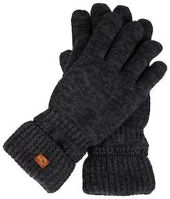 graue Handschuhe