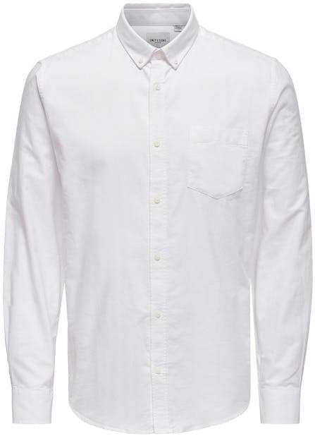 Weißes Hemd von ONLY&Sons